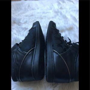 Coach Shoes - COACH Zany Black Fashion Sneakers 6,5